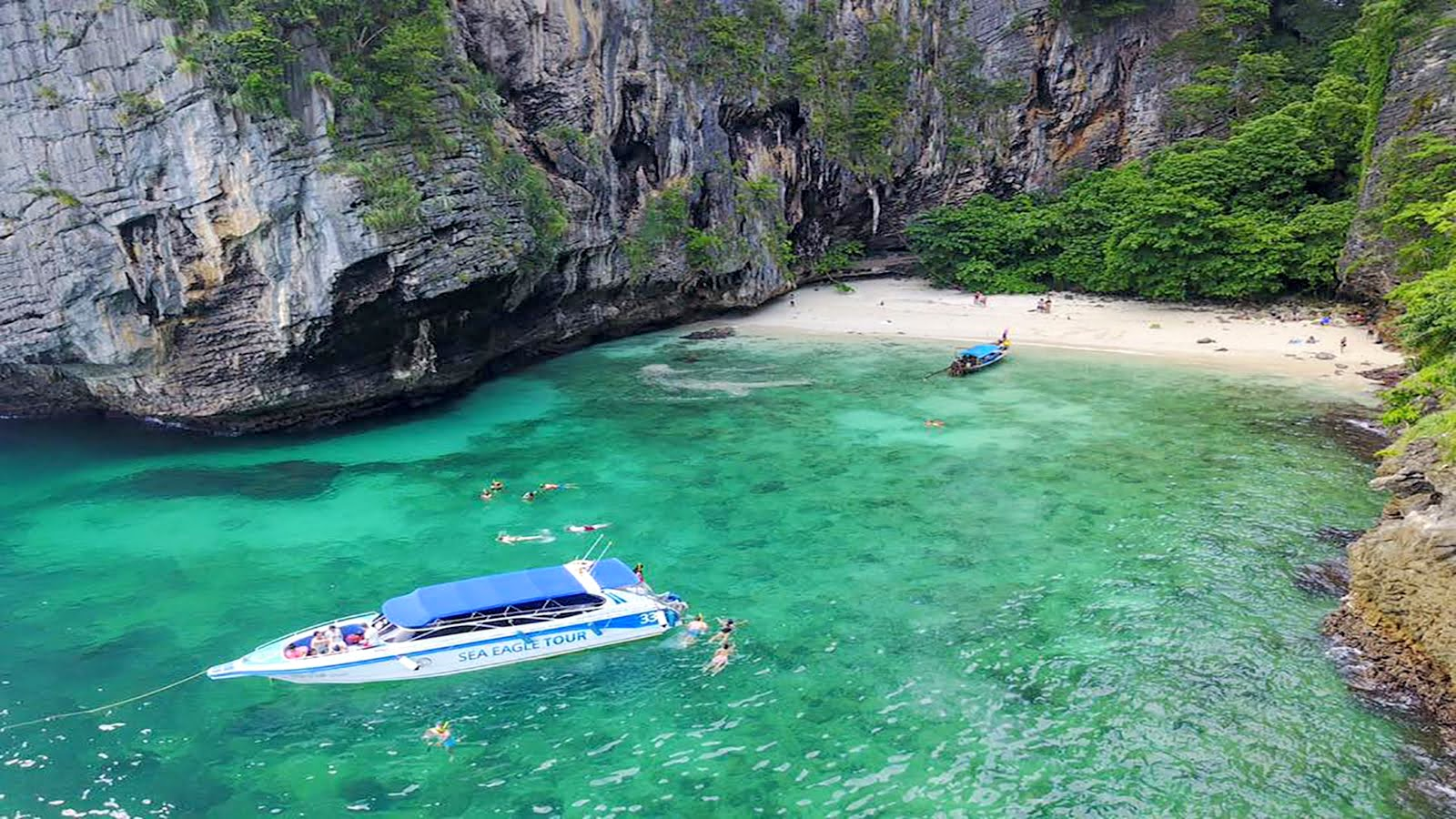 Phi Phi Island Speed Boat Tour by Sea Eagle