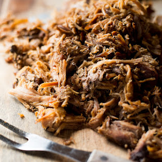Easy Slow Cooker Pulled Pork Recipe with Hawaiian Sea Salt.