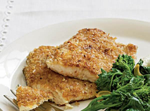 Jodie's Pecan Crusted Trout Recipe