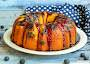 Jamie's Blueberry Bundt Cake With Sauce Recipe