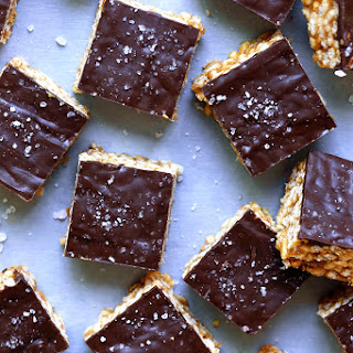 No-Bake Chocolate Peanut Butter Bars.