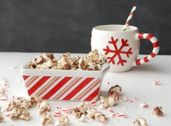 Peppermint Bark Popcorn Recipe
