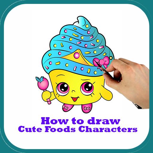 App Insights How To Draw Cute Food Cartoon Easily Apptopia