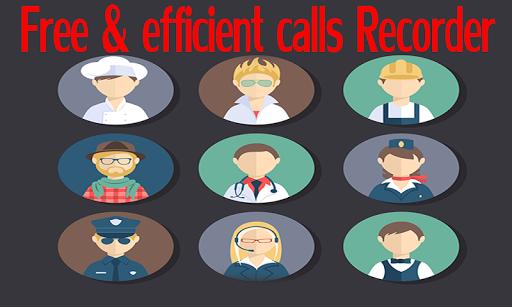Free efficient calls Recorder