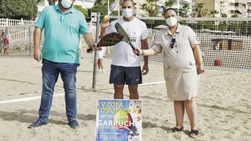Se levanta el telón del mejor tenis de playa en la provincia.