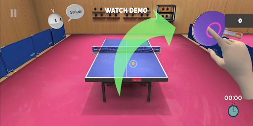 Table Tennis ReCrafted! android2mod screenshots 4