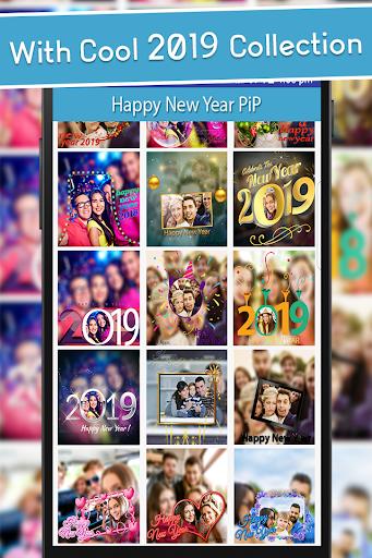 Happy New Year 2019 - PIPPhotoFrames 1.0 screenshots 2