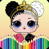 Lol Doll Surprise Coloring Book Mod