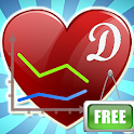 Diabetes BP Health Tracker App icon