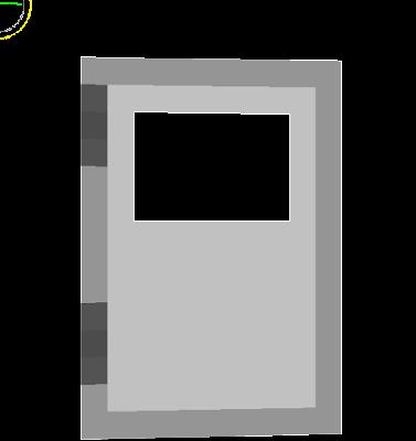 porta de ferro hehe