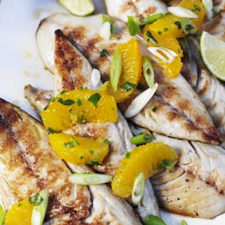 BBQ Fish with Citrus