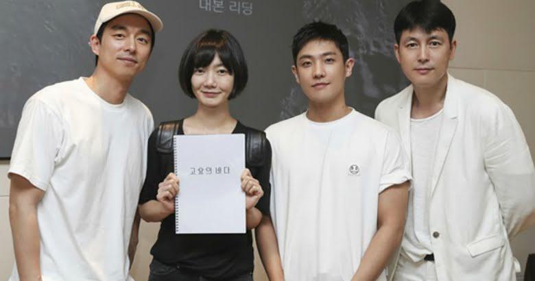 Rodaje Gong Yoo en Sea of Silence Netflix