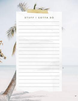 Gotta Do Checklist - Checklist item