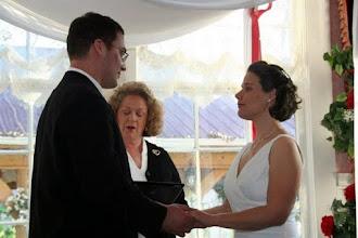 Photo: Wilhite House - Jewish Ceremony in progress - 12/08 - Anderson, SC - Photo Courtesy Rick Caperton Photographic Art - www.CapertonPhoto.com Brenda M. Owen - http://WeddingWoman.net