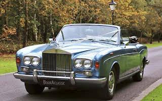 Rolls-Royce Corniche Convertible Rent East Midlands