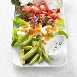Salad with Buttermilk Ranch Dressing