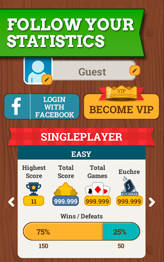 Euchre Free: Classic Card Games For Addict Players apkpoly screenshots 13