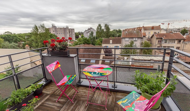 Appartement contemporain avec terrasse Dijon