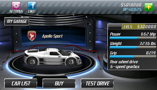 Drag Racing screenshot 10