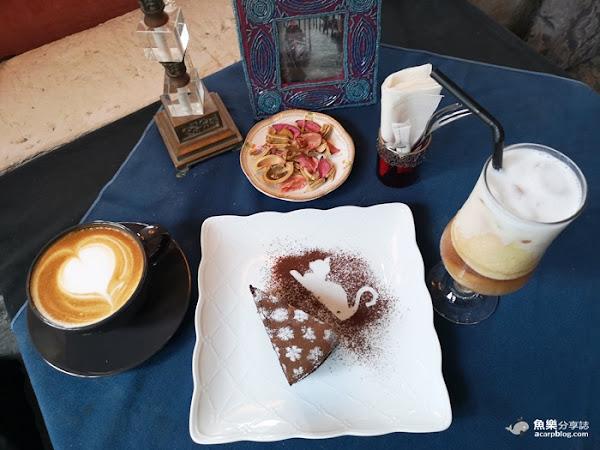 蒙馬特影像咖啡館│陽明山景觀餐廳│超美超好拍貓咪超可愛