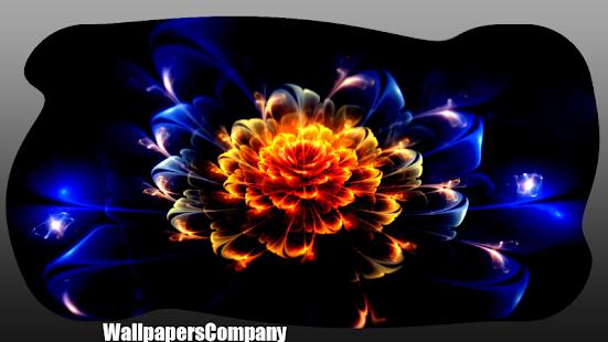 Neon Flower Wallpapers