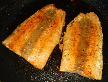 Pan Seared Cajunized Salmon Fillets Recipe