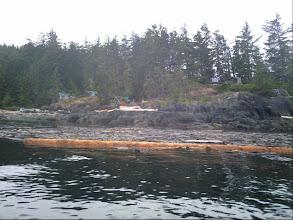 Photo: The Orca patrol base on West Cracroft Island.