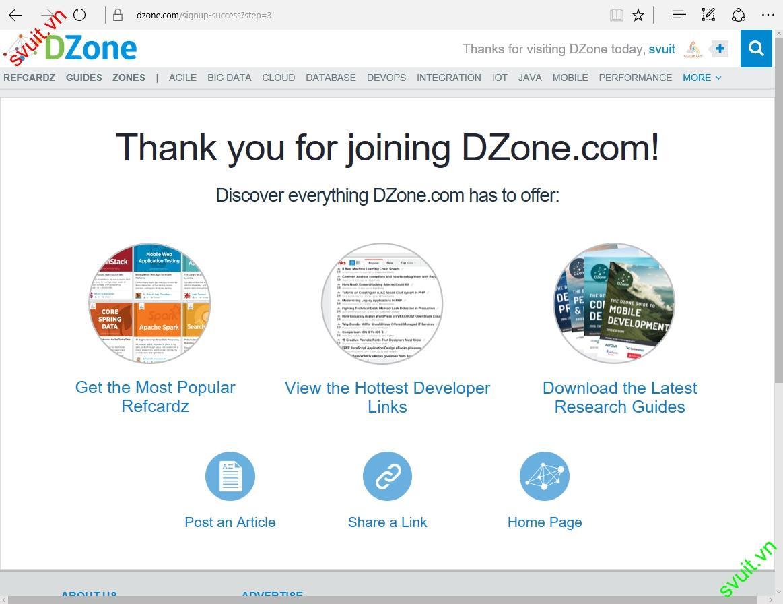 Backlink trên dzone.com(6)