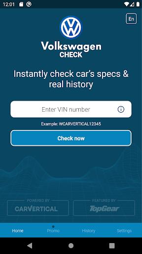 Volkswagen History Check: VIN Decoder apktram screenshots 1