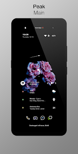Savz for KLWP Screenshot