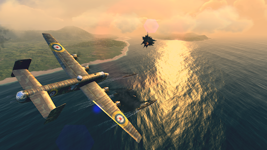Warplanes: WW2 Dogfight v2.1 (Mod) 3
