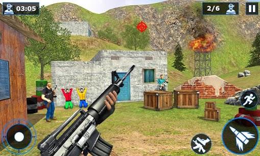 Combat Shooter Critical Gun Shooting Strike 2020 MOD (NO ADS) 2