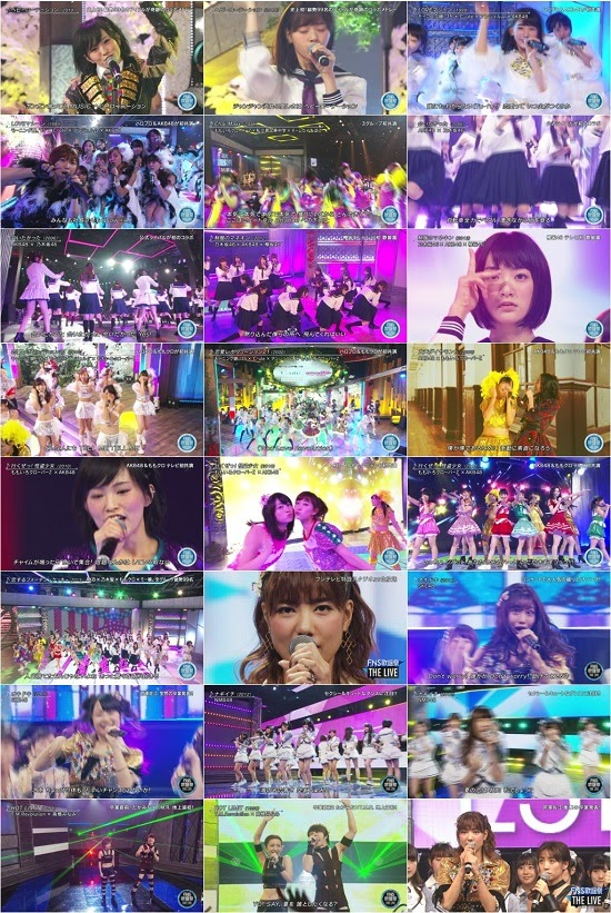 (TV-Music)(1080i) AKB48G 乃木坂46 – 2015 FNS歌謡祭 The Live 151216