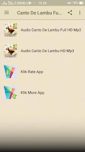 Canto De Lambu Full HD Mp3 - náhled