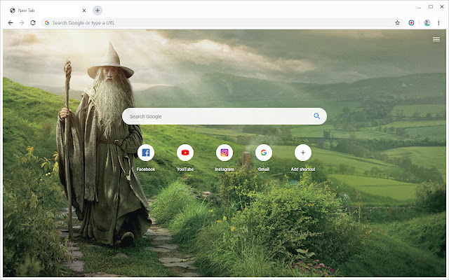 New Tab - The Lord of the Rings