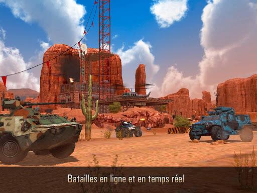 Metal Force: PvP action d'aru00e8ne de tir en ligne  captures d'u00e9cran 1