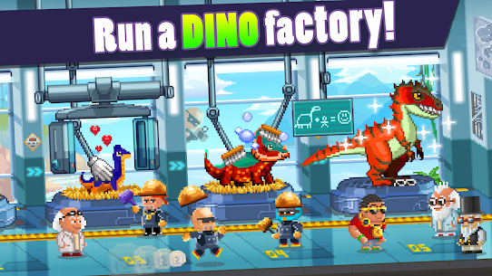 Dino Factory  Apk Download For Android and Iphone 2