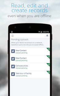 Salesforce1- screenshot thumbnail