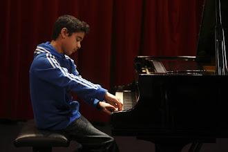 Photo: Alan Pinar tijdens het Jan Pasveerconcours 2012 fotografie Ardito / Jan Evert Zondag