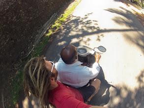 Photo: hitch-hiking