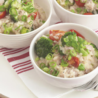 Easy Tuna Risotto.