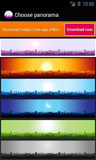 Panorama City Free LWP скачать на планшет Андроид