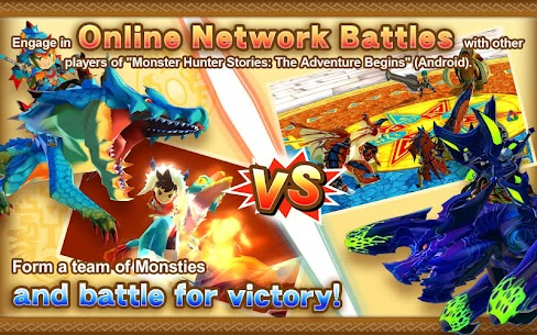 Monster Hunter Stories MOD Apk (Weak Enemy/One Hit) 4