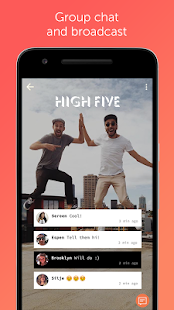 DeeMe - Photo & group chat Screenshot
