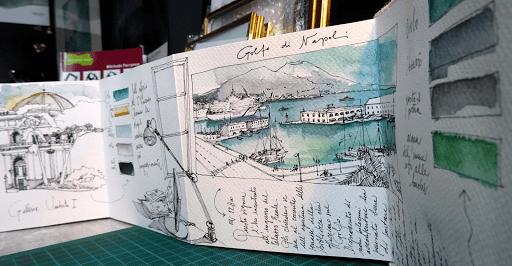 NAPLES carnet de voyage Jeanne PAPA