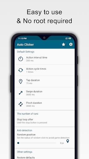 Click Assistant - Auto Clicker : Gesture Recorder 1.7.2 screenshots 1