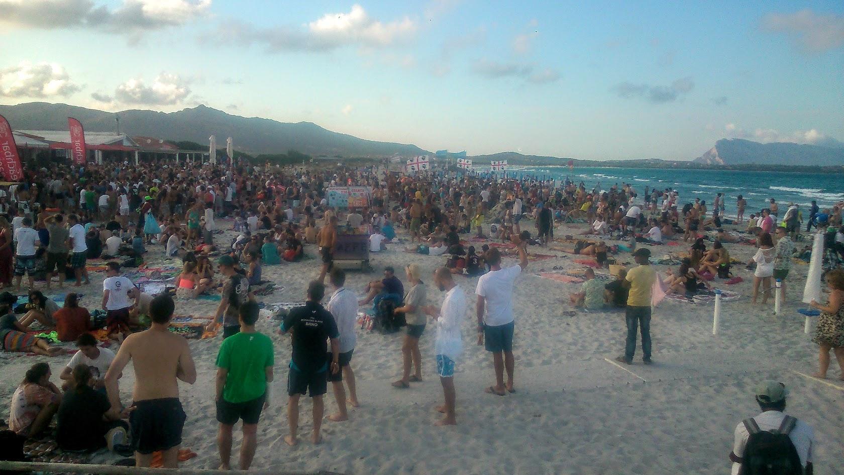 Вечеринка на пляже Ла Чинта