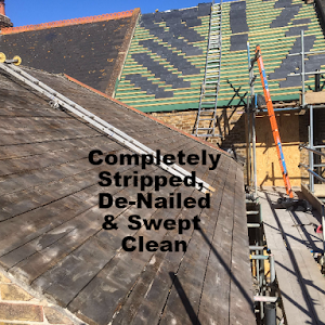 Scripped, De-Nailed & Swept Clean | Margate | First Class Rooflines