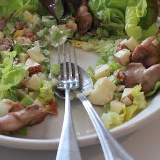 Quail and Waldorf Salad