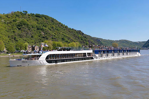 The elegant 156-passenger AmaLucia features cruises along the Rhine and Moselle rivers.